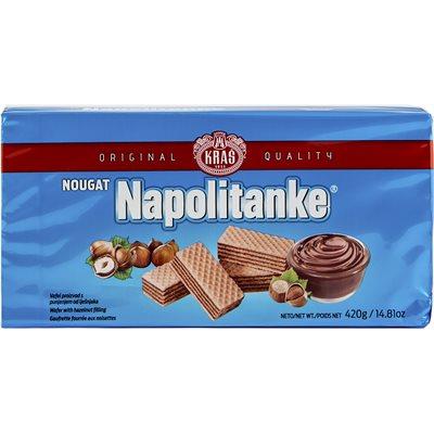KRAS Napolitanke Nougat Wafers 420g