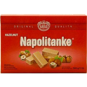KRAS Napolitanke Hazelnut Wafers 500g