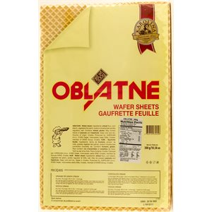 KRAS Karolina Oblatne Wafer Sheets 300g