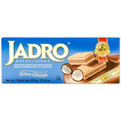 KRAS Karolina Jadro Chocolate & Coconut Wafers 430g
