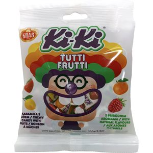 "KRAS ""Ki-Ki"" Fruit Toffee 100g"