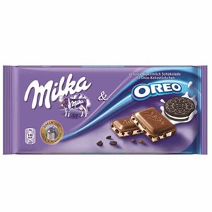 MILKA Chocolate with Oreo 100g