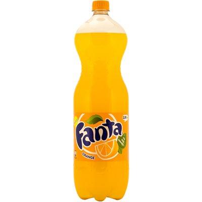 FANTA Orange Soda 2L