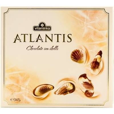 VITAMINKA Atlantis Chocolate Sea Shells 345g