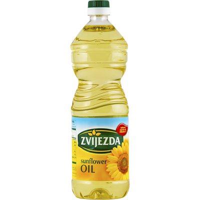 ZVIJEZDA Sunflower Oil 1L