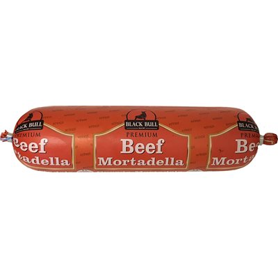BLACK BULL Beef Mortadella Mini 1lb