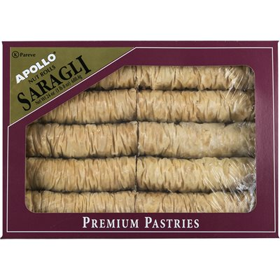 APOLLO Saragli (Nut Rolls) 24oz