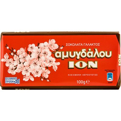ION Chocolate with almonds 100g
