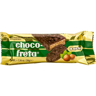 ION ChocoFreta with hazelnuts 38g